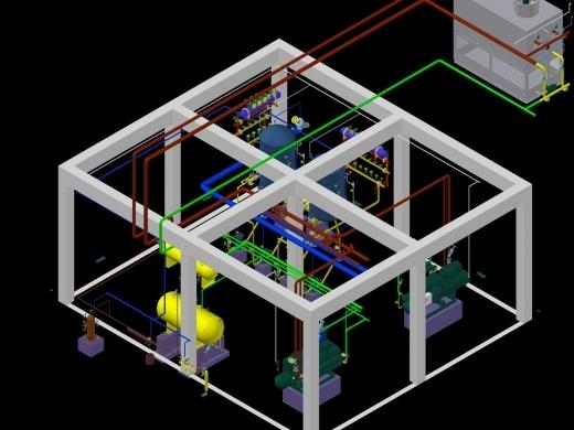 制冷系统三维设计软件V1.0