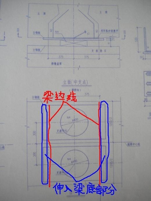 关于预制小箱梁梁底预埋钢板的疑问!急!