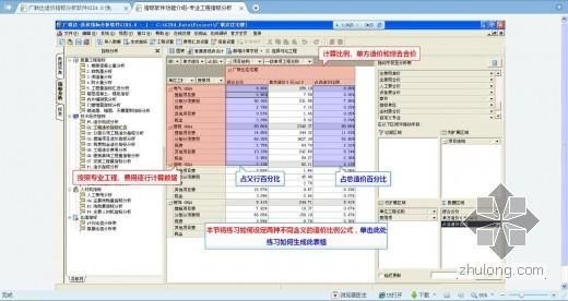 广联达造价指标软件 功能介绍