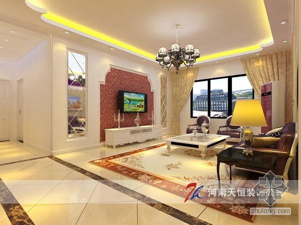 最新小区装修设计效果--郑州南阳路农业路华林小区