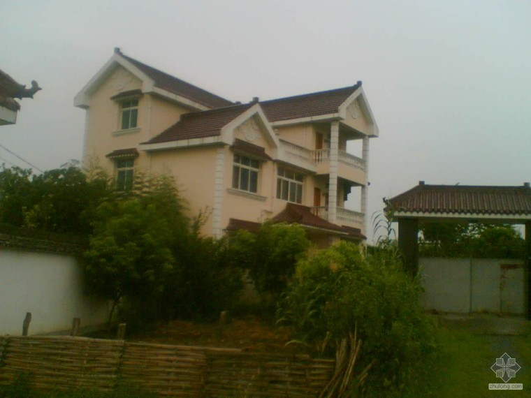 农村住宅民房摄影图片