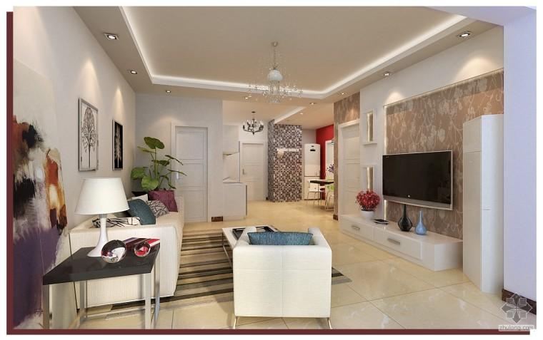 紫云府95平三室一厅新装修的房子