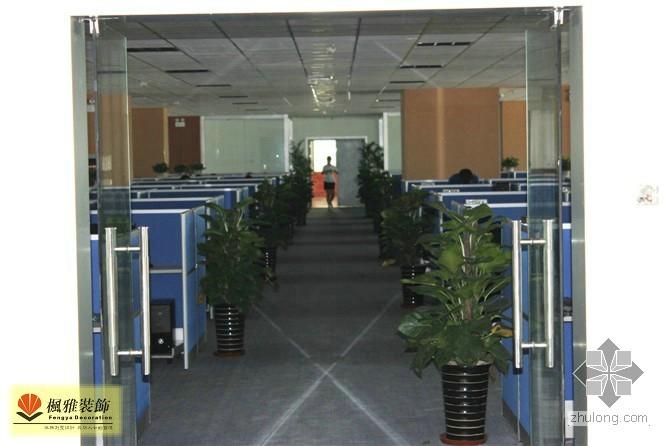 办公楼装修完工了 整体照片 挺正式的