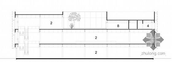 南通濠河区域城市规划资料下载-henn architekten设计的南通城市规划馆