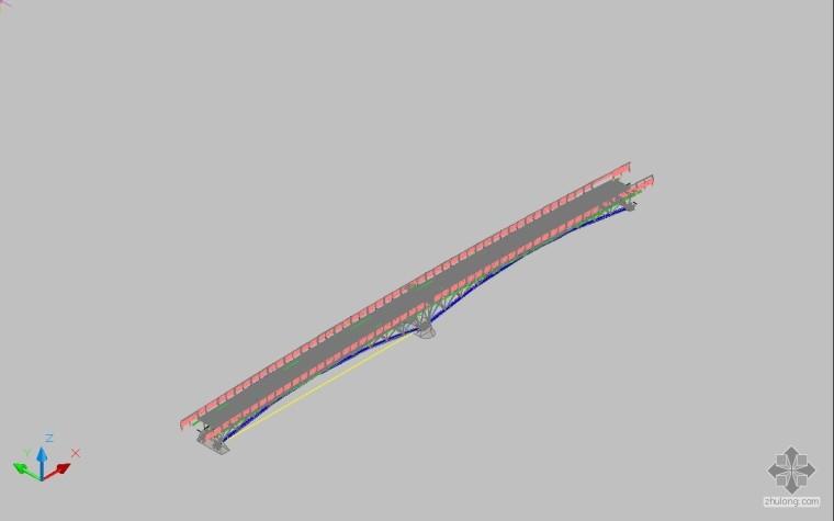 [转]钢管桁架拱桥