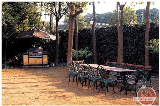 别墅景观设计案例-杭州贝尔高林景观设计案例展示