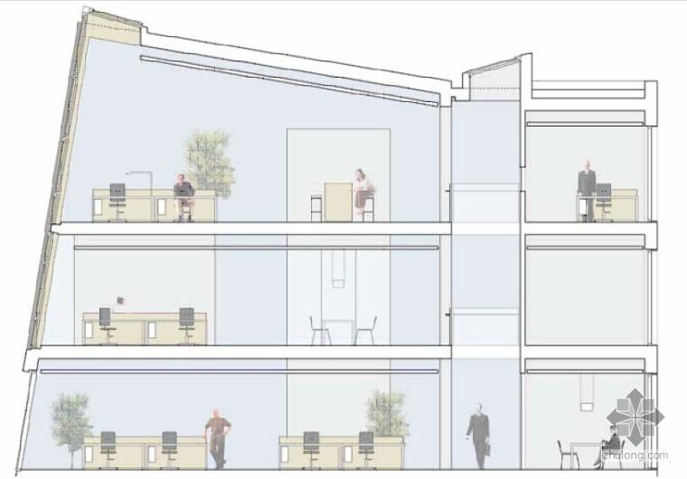 自然采光的现代化办公大楼――丹麦会馆