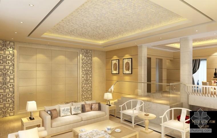 客厅吊顶装修——2013客厅吊顶流行效果图赏析
