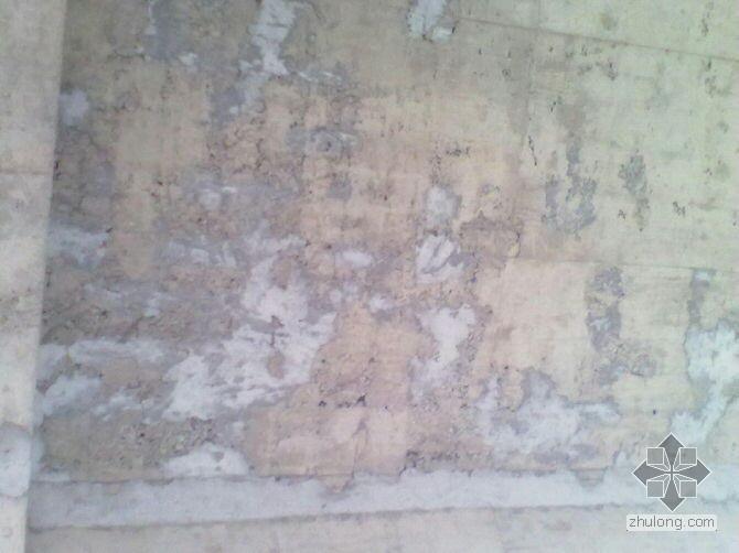 别墅坡屋面蜂窝、麻面该怎么修补?