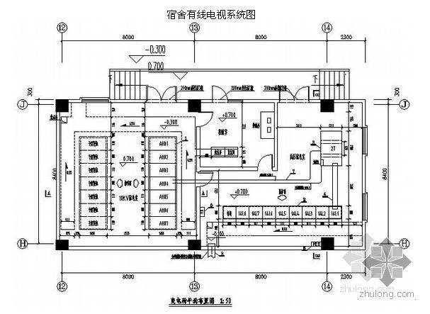 [五星级][昆明]某茶厂建筑群全套电气施工图纸208张