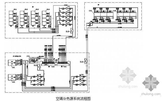 [南京]大型购物中心暖通空调设计施工图