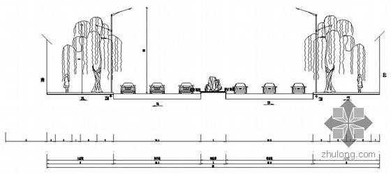 [精品图纸]某道路市政电气管线与照明施工图纸