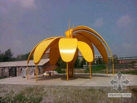 黑龙江伊春景观膜结构标志建筑