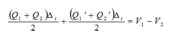 水库蓄水容积的计算公式