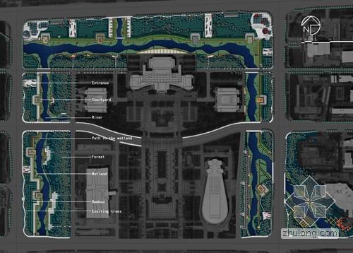 再造城市滨水景观 宁波鄞州中心区河道改造