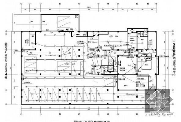 [精品资料]卫校九层教学综合楼全套电气施工图纸