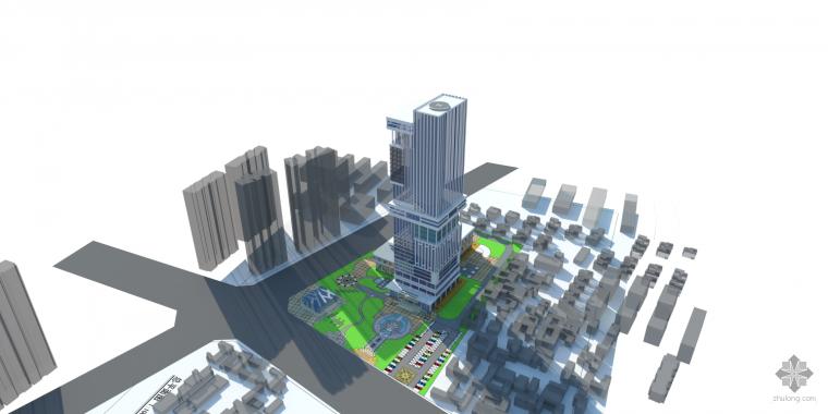 自己做的综合体设计,地域性的考虑出发。