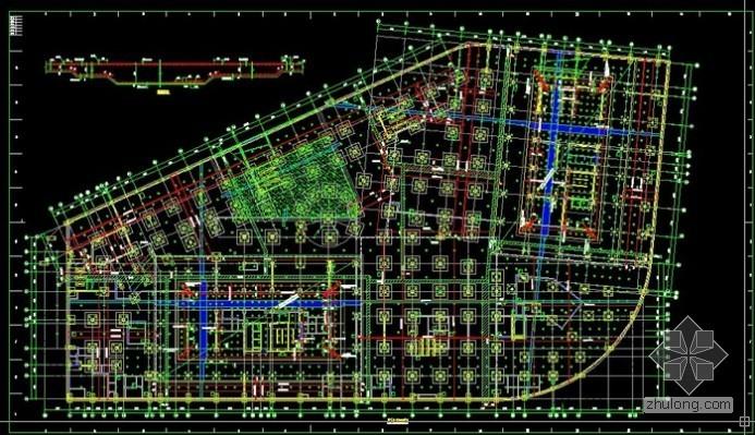 大型住宅小区地下室工程全套电气施工图纸