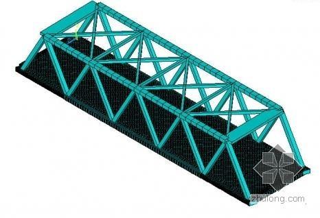 钢结构桥模型(ANSYS)