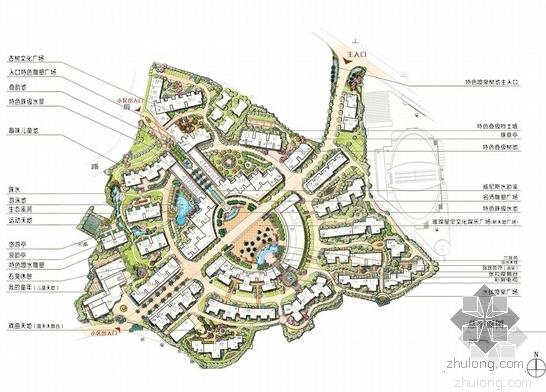 [精选]2013年住宅小区景观方案文本汇总