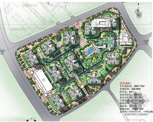[精选]2013年住宅小区景观方案文本汇总-2.png