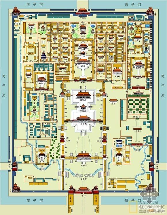 [图片]故宫平面图