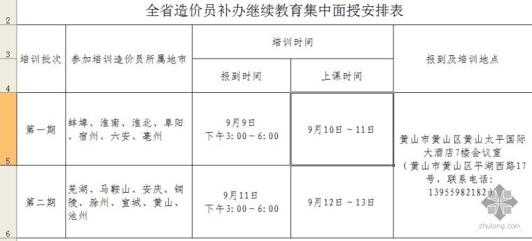 安徽省关于开展造价员继续教育和证书验证补办工作的通知