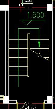 天正怎样绘制3跑楼梯?