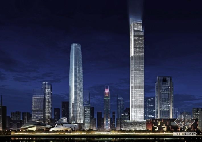 [500米级]广州东塔(周大福中心)539.2米112层过程照片[观赏贴]