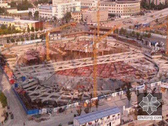 超深基坑围护结构及土方开挖岩土监测施工总结(图文)