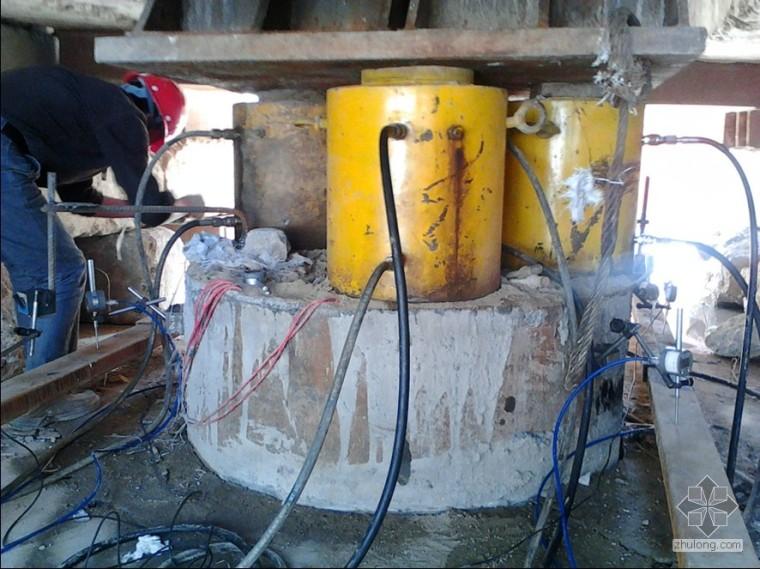 静载实验桩头和千斤顶之间需要垫钢板吗