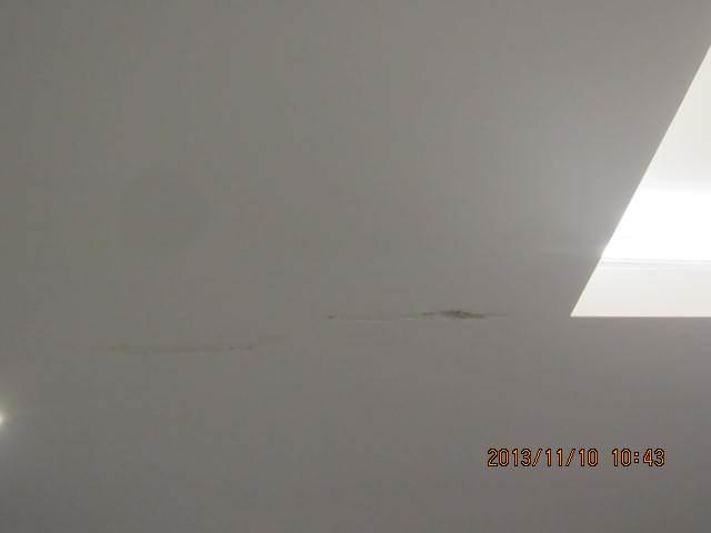 新做的吊顶石膏板吊顶转角处出现开裂