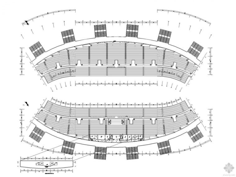 [重庆]大型体育场及公园全套电气图纸(含完整节能图纸文档