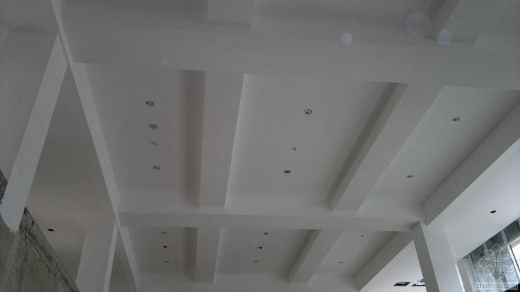 石膏板吊顶施工