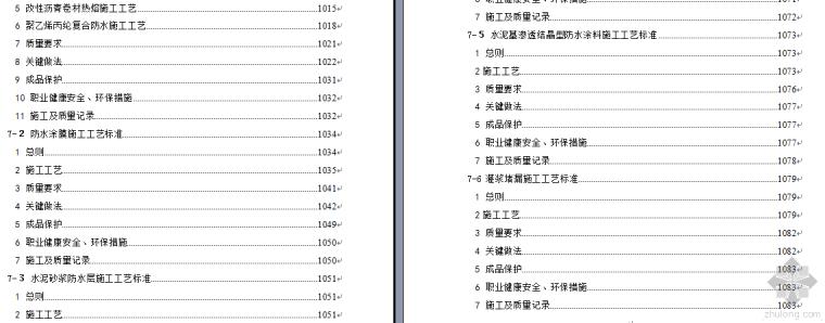 某企业工法汇编及多套工法精华1083页