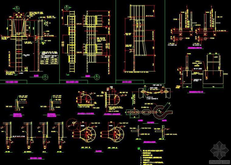 钢结构节点套图(免费下载)