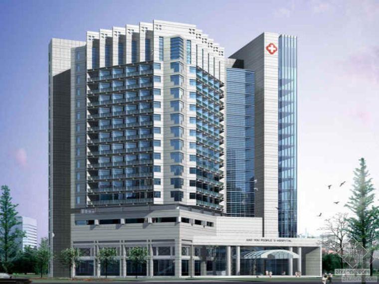 [浙江]15万平大型医院主副楼全套电气施工图纸389张