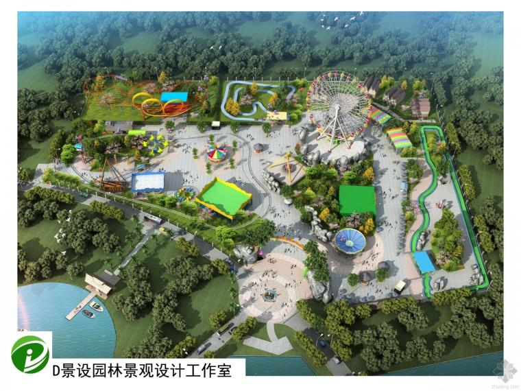 D景设游乐园景观设计主题项目汇总
