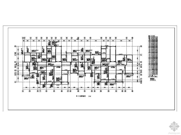 某30层剪力墙结构高层全套结构图纸(免费下载)