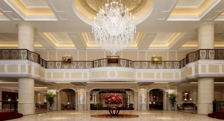 英国赫斯科建筑设计公司设计的天津利兹卡尔顿酒店