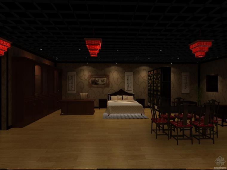 新做的中式家具会馆
