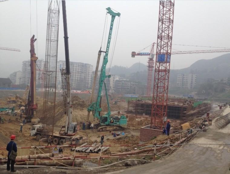 [工程实录]全过程见证:重庆旋挖桩基施工