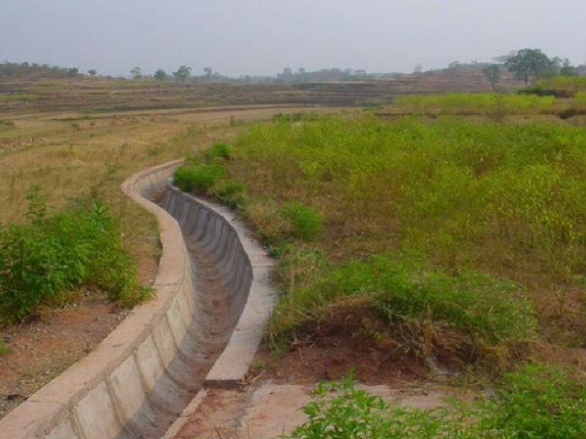 渠道防渗做好了,节水灌溉就不愁啦