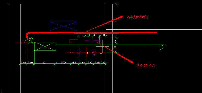 喷淋支管可以穿越电气弱电、消防控制桥架么
