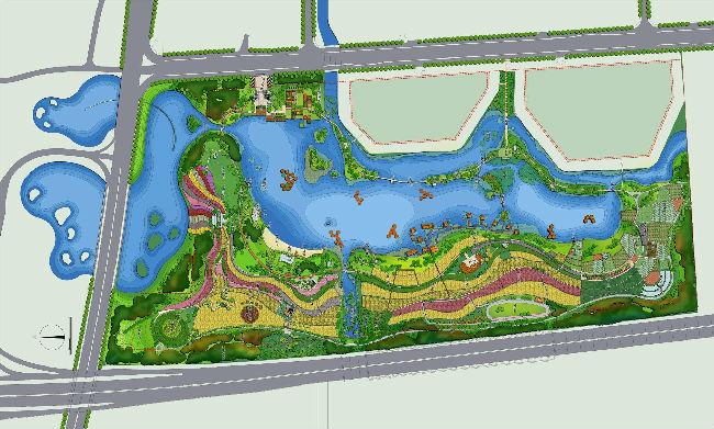 杭州湾海上花田生态旅游度假区标识系统及景观文化小品设计 方案征集公告