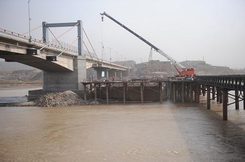 宁蒙跨境石嘴山黄河大桥全面开工建设