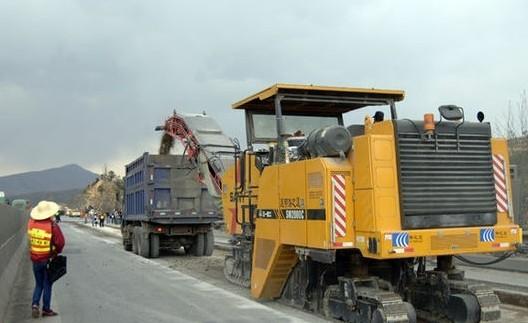 云南:楚大高速公路大修 车辆分流和分时段通行(图)
