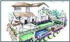 混凝土露台的设计和构思