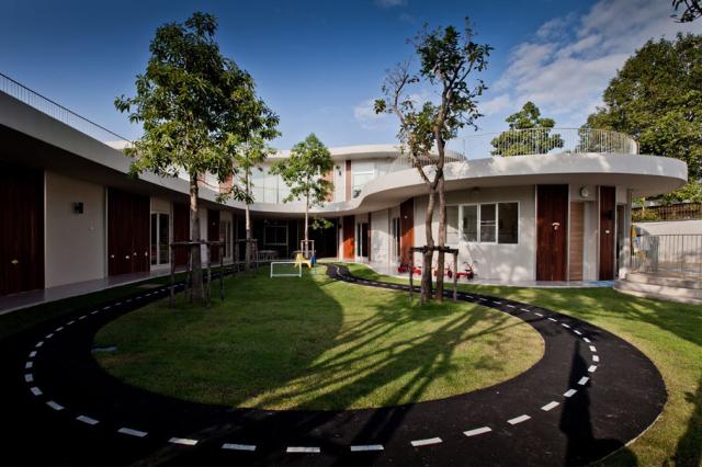 泰国曼谷肯辛顿国际幼儿园景观设计