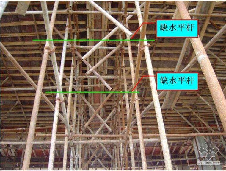 模板支架发生坍塌的原因分析及技术安全要求